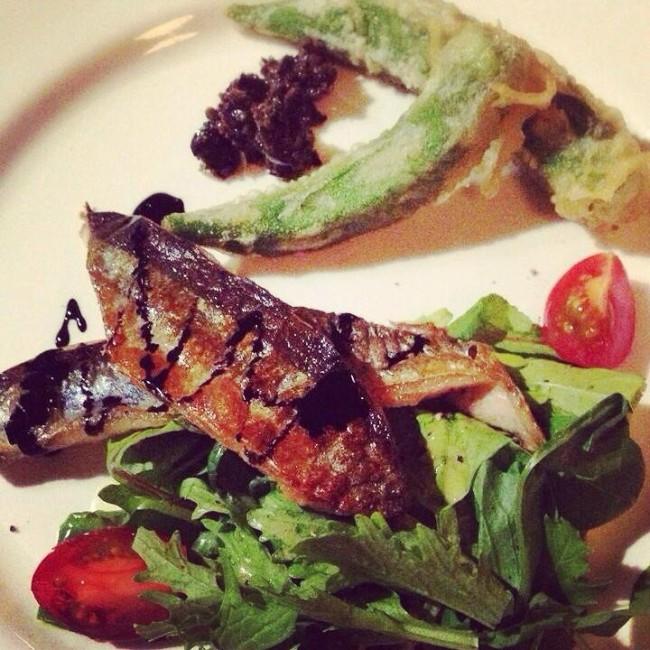 秋刀魚のソテー